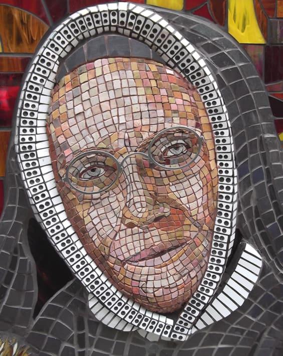 Janet Erskine Stuart mosaic