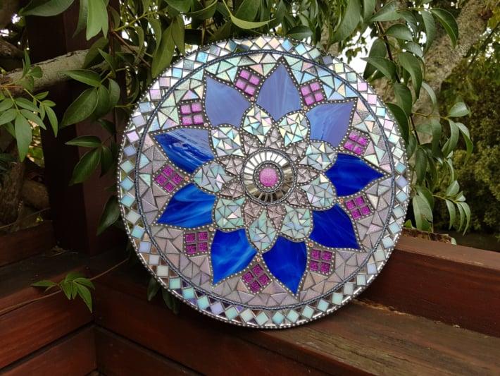 Blue Mandala मण्डल