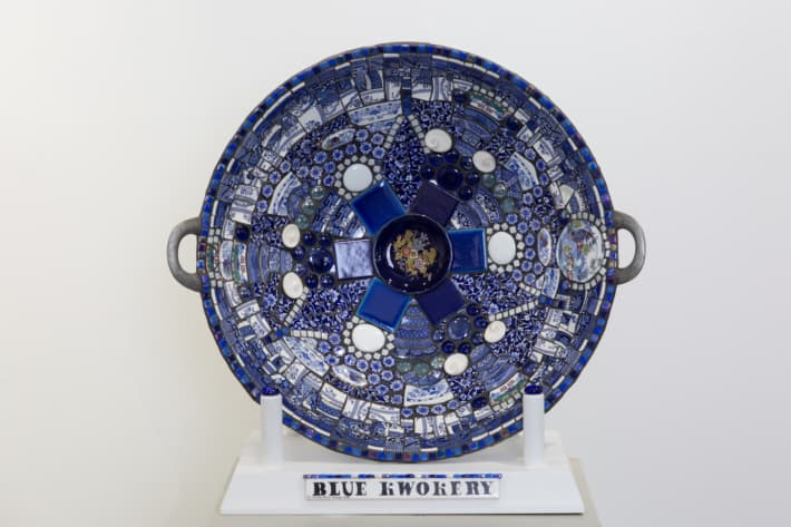 "Chrissy Baird   ""Blue Kwockery"""