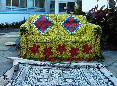 Mosaic sofa - To'ologalofaondasofa