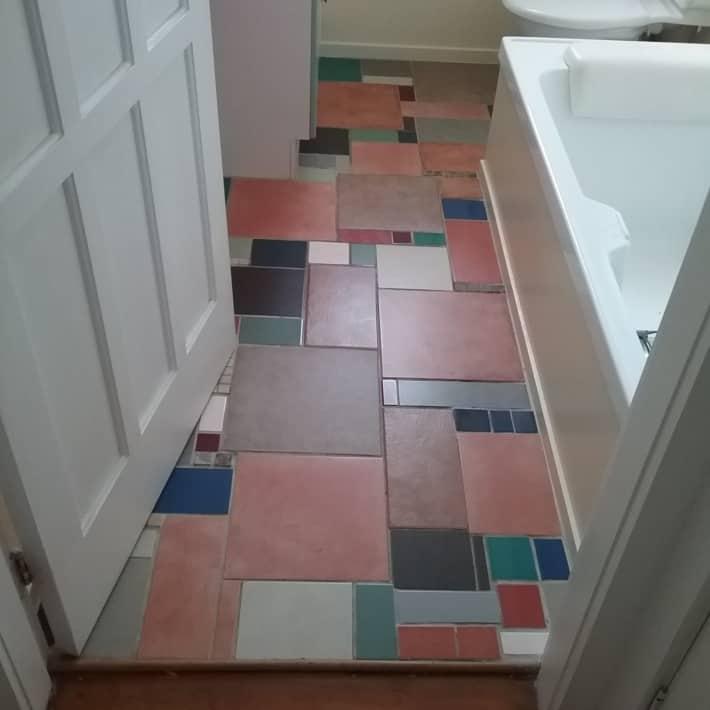 My Bathroom Floor