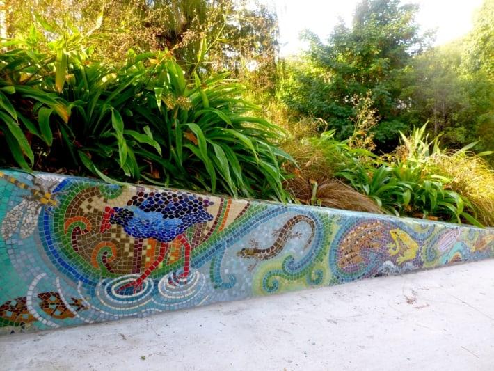 Waiwhetu Stream Picnic Area Mosaic Wall Mural
