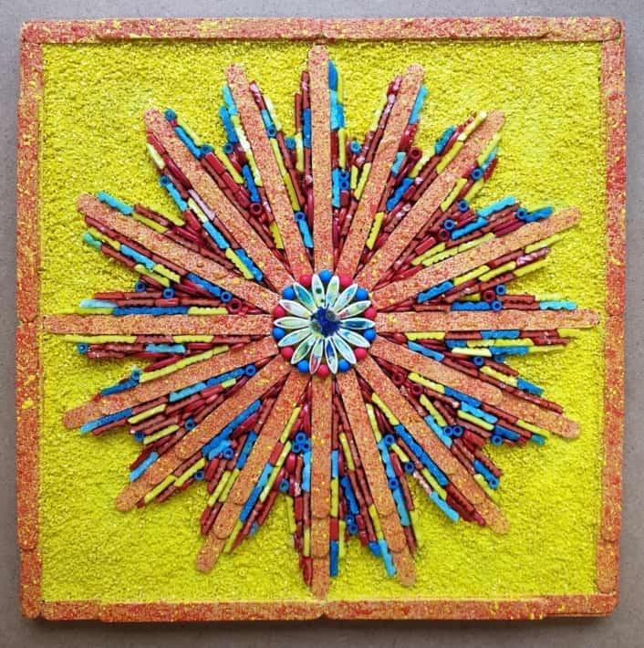'Colour Burst'       Elwyn Scott