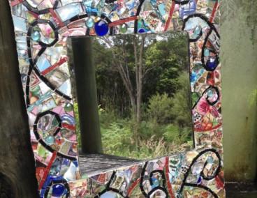 Sitara Morgenster Hanging Garden mirror